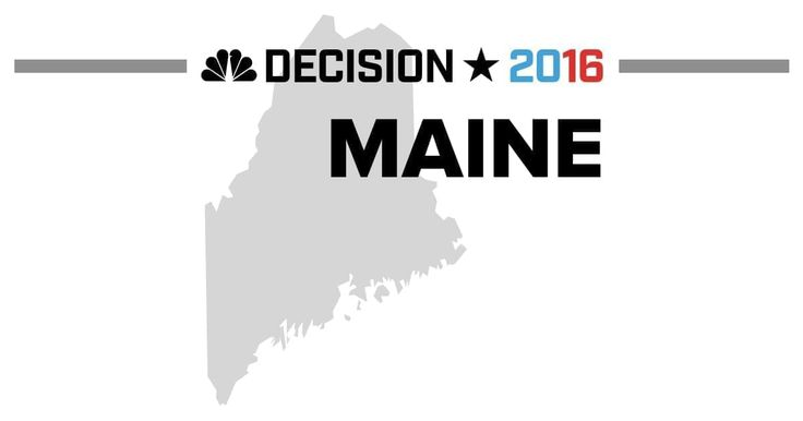 Presidential election results from the 2016 Maine Republican Caucus on March 5 and Maine Democratic Caucus March 6
