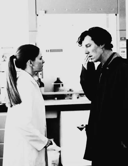 Dr.Antione is not in love but one thing she cherishes deeply is the friendship between her and Sherlock. They both value their work and share roles equally. Sherlock does not boss her around and Dr.Antione does not boss him around. They have a really good time doing their job as best as they can