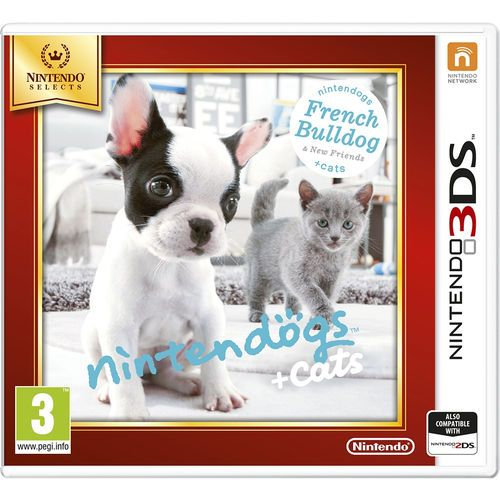 Nintendo 3DS Selects Nintendogs + Cats - French Bulldog