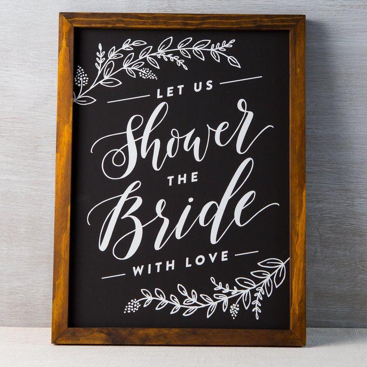 Best 20 Bridal Shower Chalkboard Ideas On Pinterest