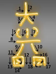Reiki Symbol Dai-Ko-Myo traditional