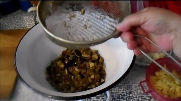 Zpracované houby 2 - houby naložené na kyselo do sklenek