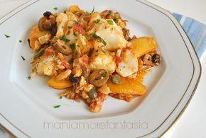 Il baccalà agghiotta è un piatto molto saporito che racchiude profumi e sapori della cucina siciliana. Scoprite la ricetta cliccando sul link.