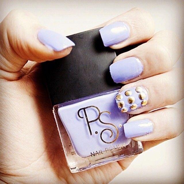 Pastel beauts! #nailart #studs