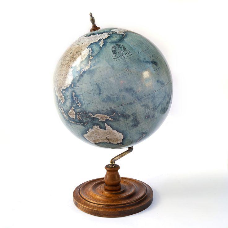 The Livingstone globe is based on a