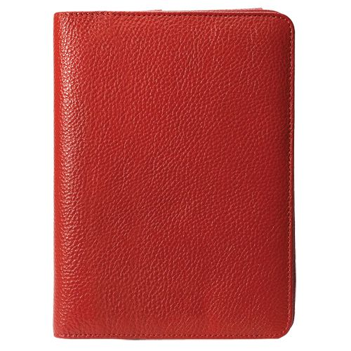 Étui et support en cuir pour lecteur de livres électroniques Kobo VOX de Werx - Rouge