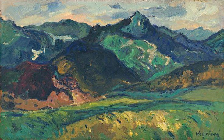 Oľga Krýslová. Ostrá II. 1961