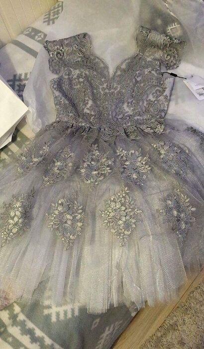 Lavard Silver beautiful Prom Dress 💍  Rozmiar 36 / 8 / S za 300.00 zł. http://www.vinted.pl/damska-odziez/sukienki-wieczorowe/16249204-lavard-sukienka-na-studniowke-sylwestra-karnawal.