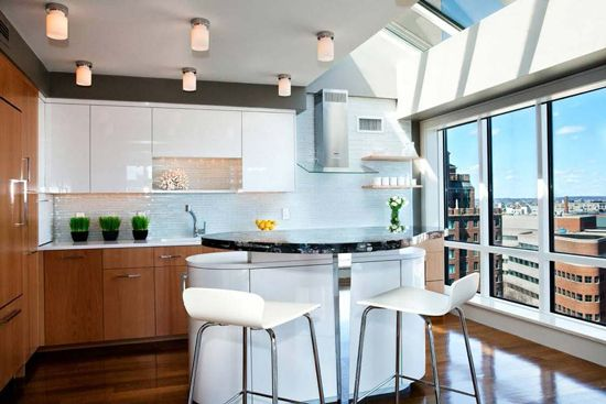 Makeover Monday: Integrated Miele Kitchens, Cool Kitchen Lighting