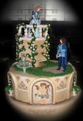 Romeo and Juliet Cake