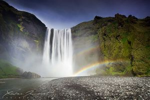 Skogafoss Falls ✓