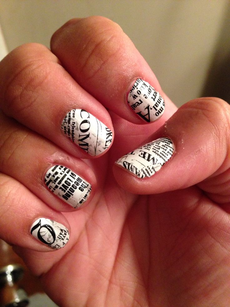 Best 59 Print Nail Art images on Pinterest | Nail scissors ...