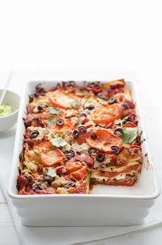 Veggieful - Vegan recipes and more...: Vegan Mexican Lasagne Recipe