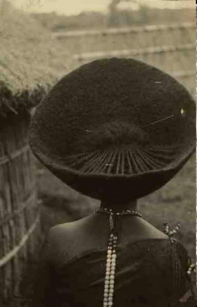 Beautiful Oromo (kemetic Africa) hair style in Jimma, Oromia, 1885 -1894