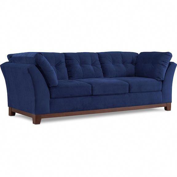 Sebring Sofa - Indigo Value City Furniture and Mattresses