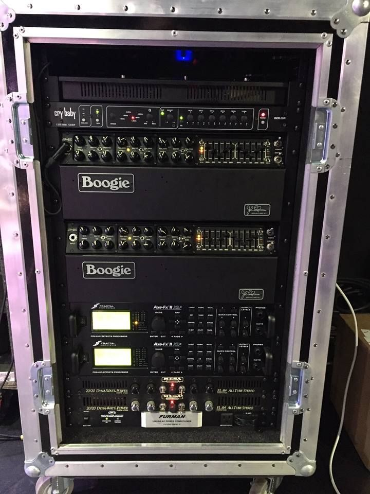 John Petrucci  Dream Theater  2016 Touring Rig with Mesa