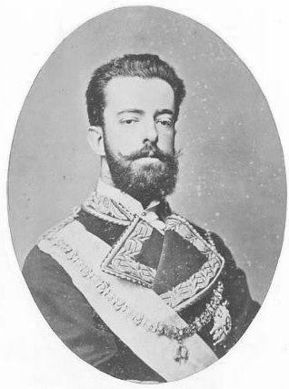 Amadeo I  (1845 – 1890) was the only King of Spain from the House of Savoy. He was the second son of King Vittorio Emanuele II of Italy & was known for most of his life as the Duke of Aosta, but reigned briefly as King of Spain from 1870 to 1873. He was elected by the Cortes as Spain's monarch in 1870, following the deposition of Isabella II, & sworn in the following year. He abdicated & returned to Italy in 1873, & the First Spanish Republic was declared as a result.
