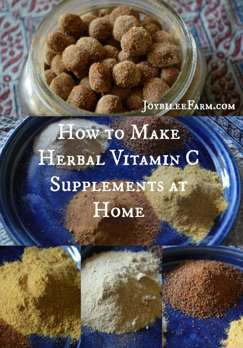 Vitamin C benefits and how to make herbal vitamin C supplements at home -- Joybilee Farm