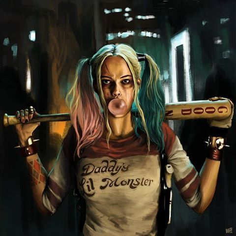 """We're bad guys it's what we do"" - Harley Quinn"
