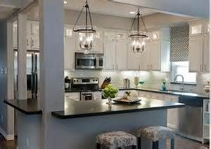 ... raised ranch!: Kitchens, White Kitchen, Kitchen Design, House, Kitchen