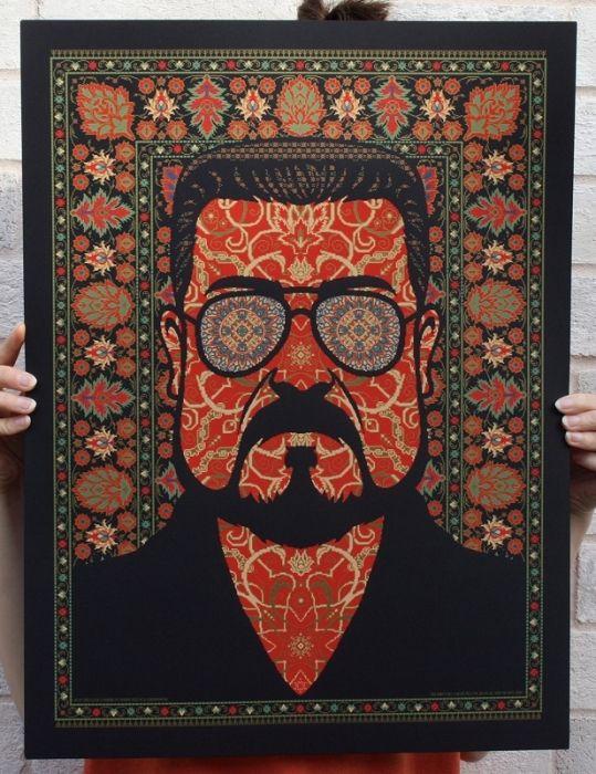 The Famous Lebowski's Carpet
