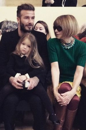 Full House! The Entire Beckham Brood Are On Victoria's FROW
