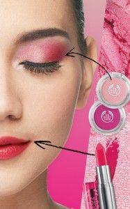 Pink Crush!  Try this girly look! Warna pink cenderung cocok untuk semua skin tone. Untuk mendapatkan riasan yang soft & feminine, cobalah koleksi Colour Crush in pinkish colours.