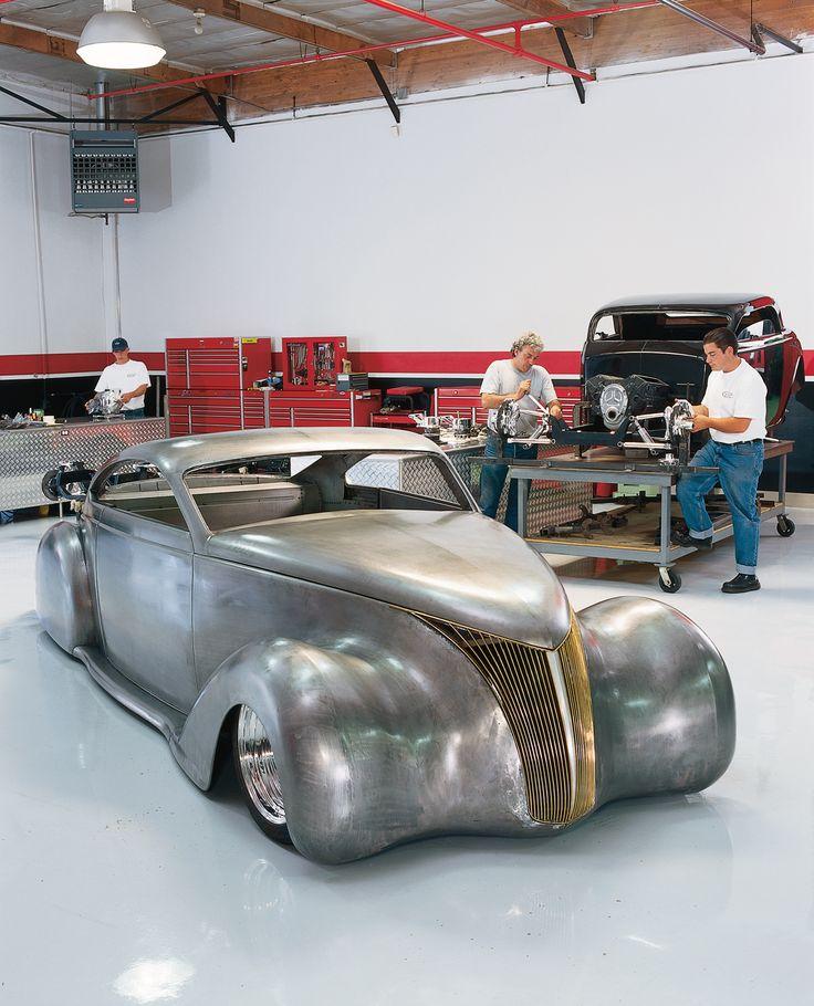 A 1938 Lincoln Zephyr By Boyd Coddington – Boyd Coddington's Garage   The…
