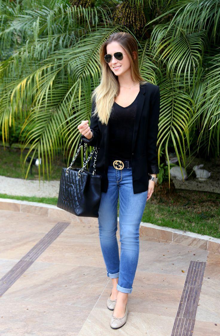 The Classic M | Por Marina Bragança: Look do Dia: Basic!