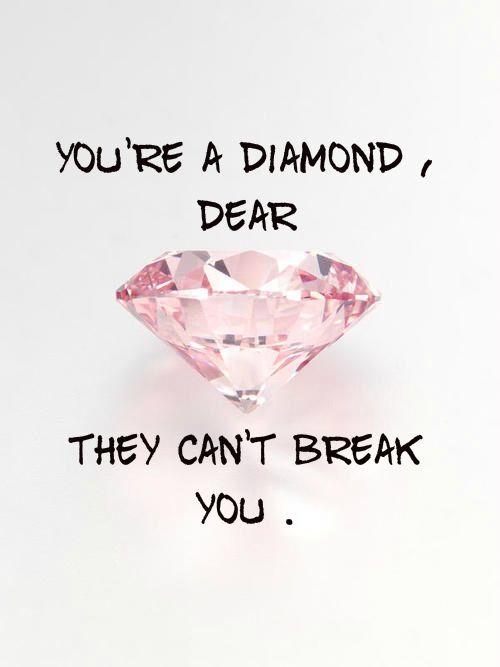 You're a diamond dear..