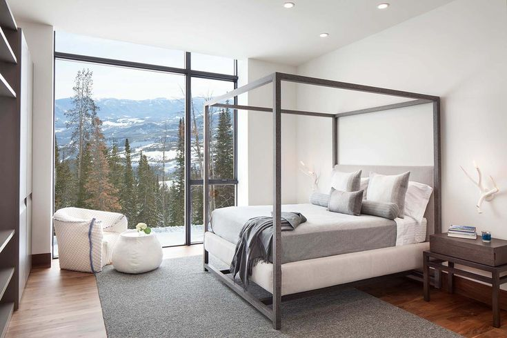Best 25 modern mountain home ideas on pinterest for Mountain modern bedroom