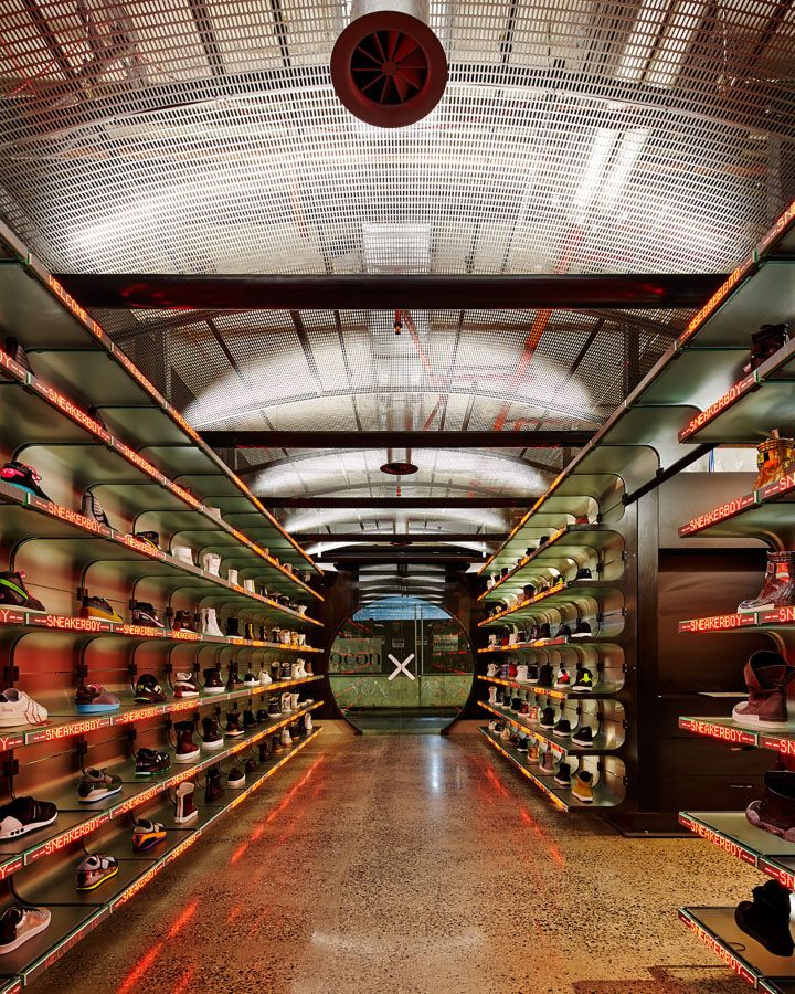 Sneakerboy store by March Studio, Melbourne – Australia