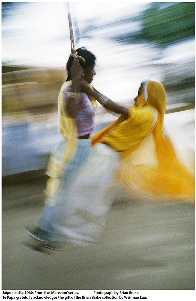 Jaipur, India from the 'Monsoon' series by Brian Brake