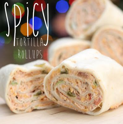 People couldn't keep their hands off of these Spicy Tortilla Rollups!  So simple but so delicious- perfect game day food! #SuperBowl #snack #appetizer @allrecipes
