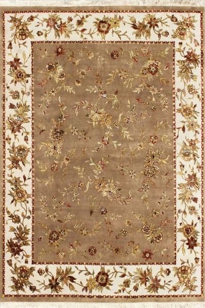 Anohara Luxury Transitional Wool & Silk Rug E1224