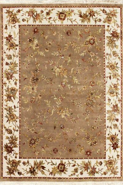 Anohara Luxury Transitional Wool & Silk Rug E1224