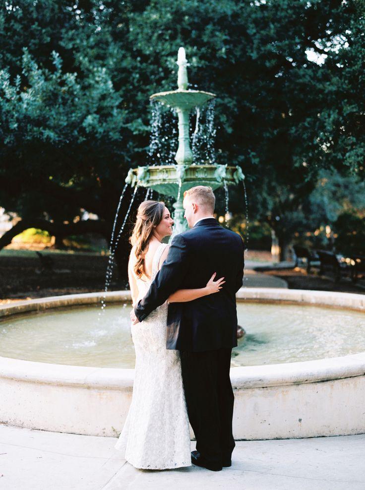 Sam Houston Park Houston, TX Courthouse Wedding no