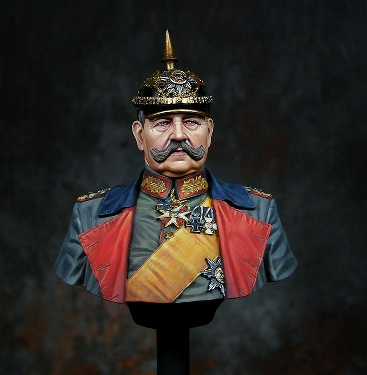 Paul Von Hindenburg by Ernest · Putty&Paint