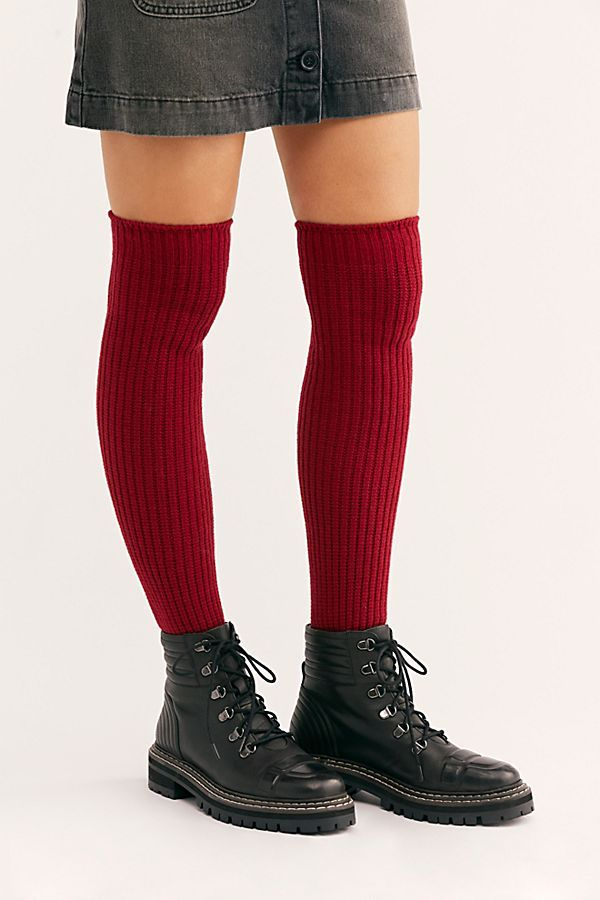 2c9a6ab0b48 Slide View 1  Lounge Ribbed Over The Knee Sock