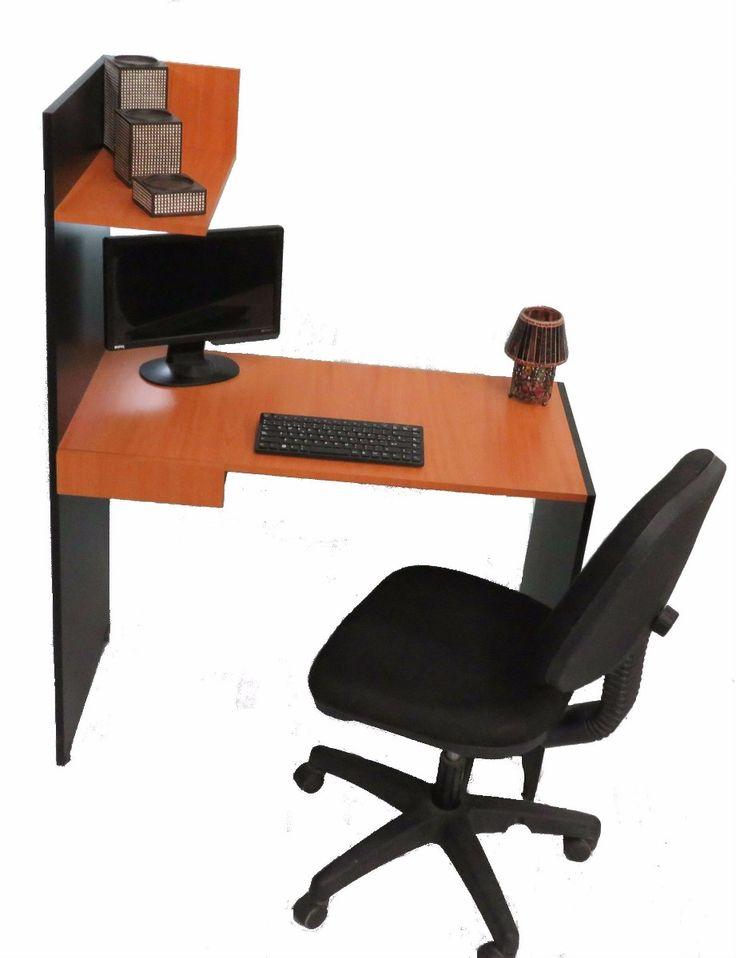 17 mejores ideas sobre escritorio moderno en pinterest for Diseno de mesa de computadora