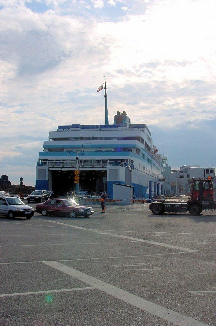 Overtocht Ystad - Ronne op Bornholm