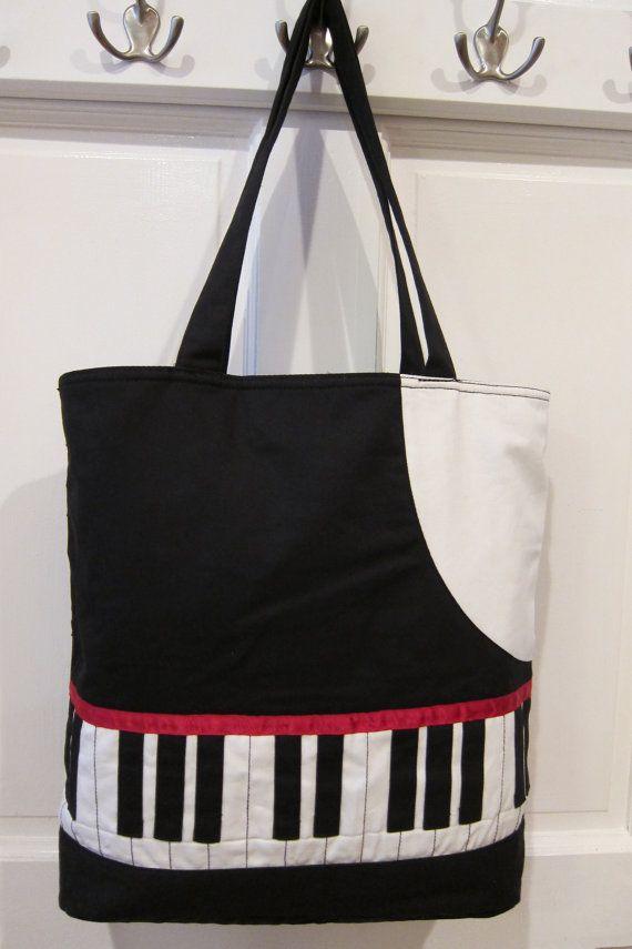 Piano Tote Bag 108