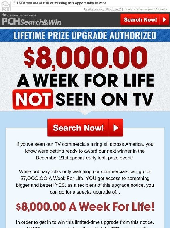 If You Win Publishers Clearing House How Do They Contact You