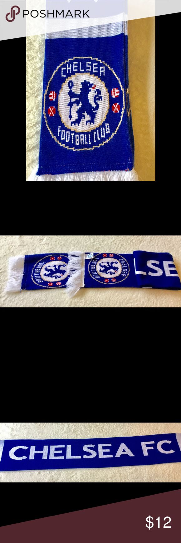 Official Chelsea club Soccer Scarf Official Chelsea football team soccer scarf. Like new. Accessories Scarves