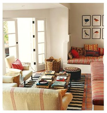 Carolina Eclectic: My Dream Home This Week: A Domino Favorite.