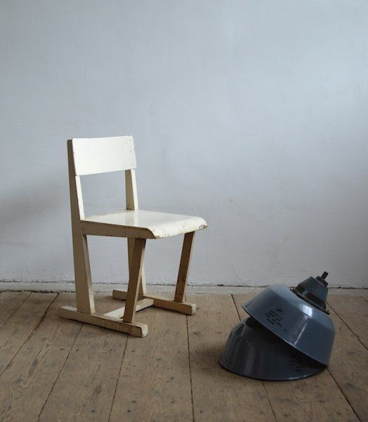 White Bauhaus Chair - artKRAFT