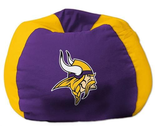 Kids Minnesota Vikings Bean Bag Chair Beanbag