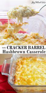 Cracker Barrel Hashbrown Casserole Keto Low Carb THM – Joy Filled Eats