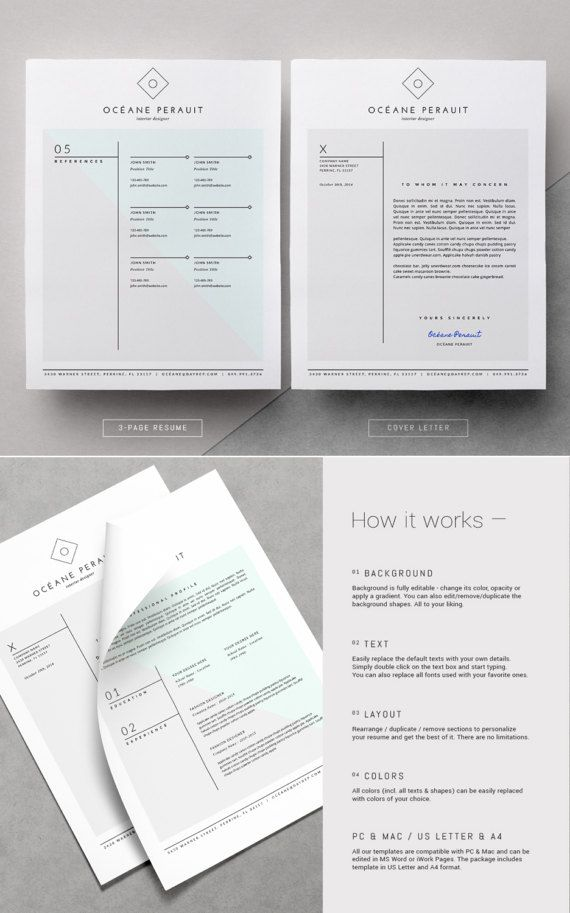 133 best + resume templates images on Pinterest Resume templates - paper for resume