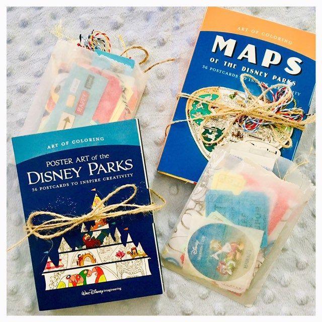 Mini Disneyland Maps Or Poster Junk Journal Disney Travelers Notebook In 2020 Disneyland Map Disney Trips Travelers Notebook